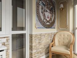 Остеклённый балкон в Чернигове
