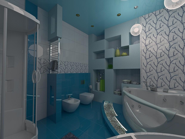 Toilette in 3d max vray Bild