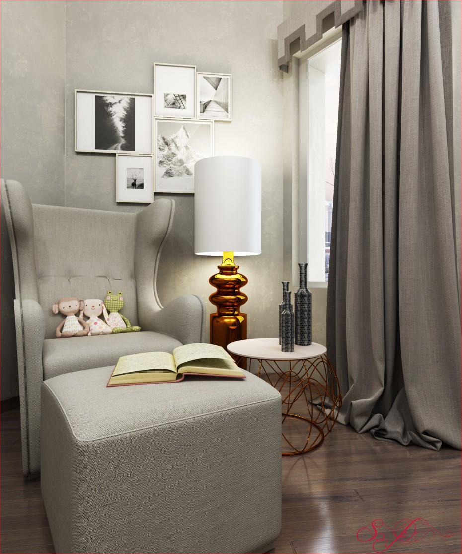 3d visualization of the project in the Living room 3d max, render vray of urodi