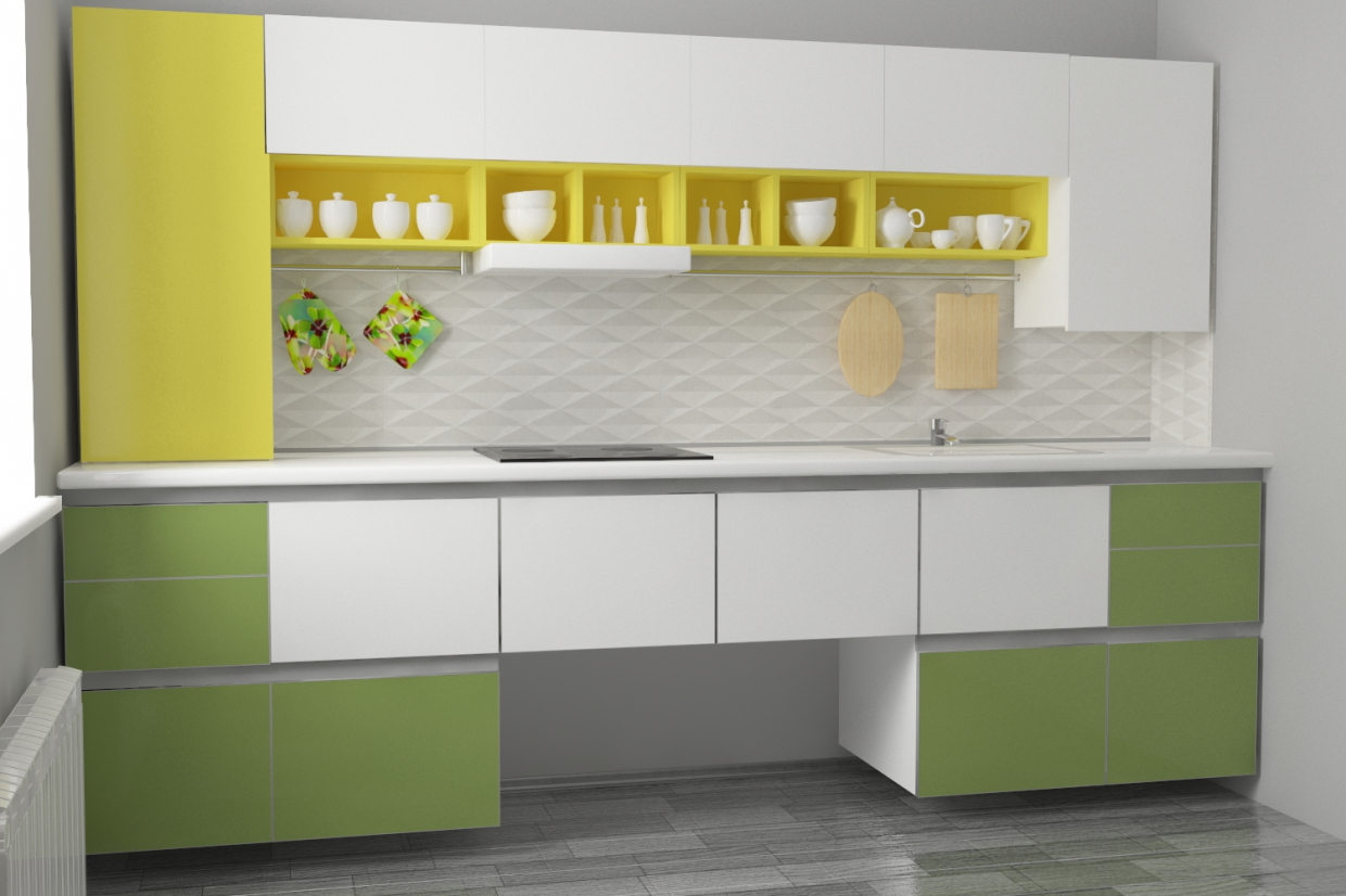My new kitchen in 3d max vray 3.0 image