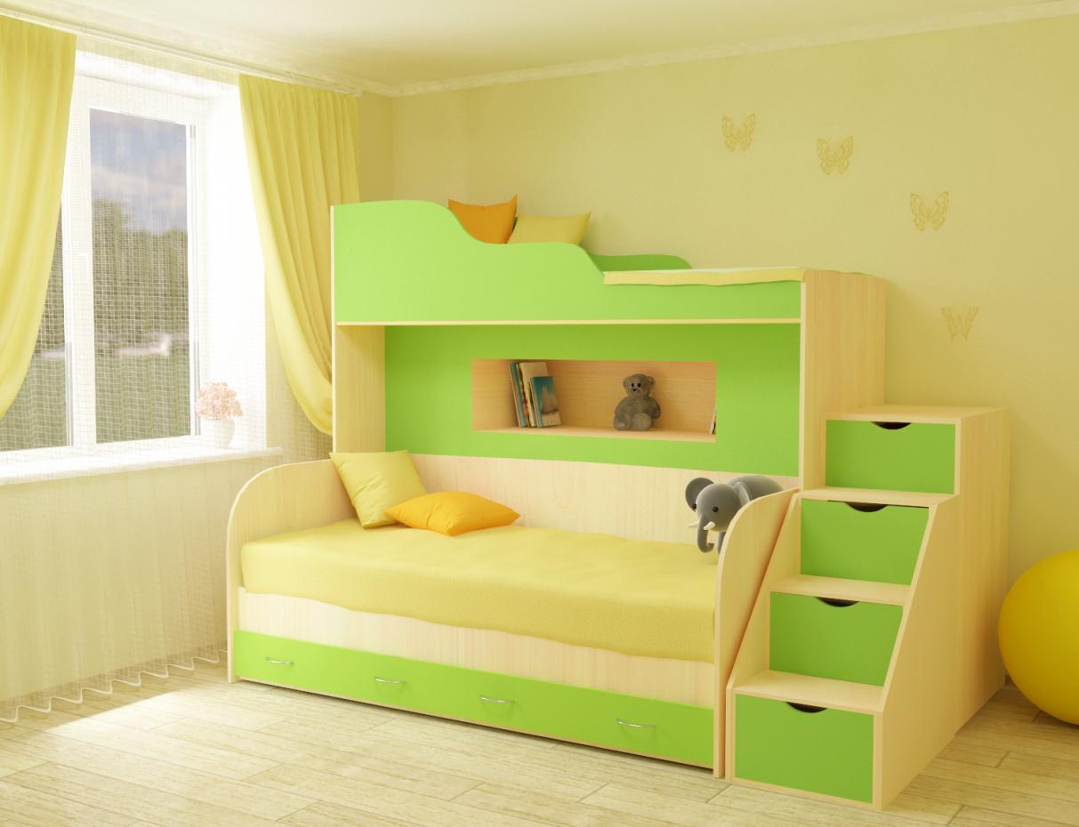 Children's bunk in 3d max vray 3.0 image
