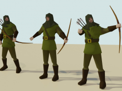Archer (low-poly)