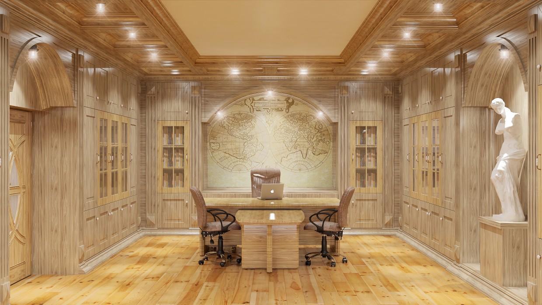 imagen de Gabinete - ArtSem en 3d max vray