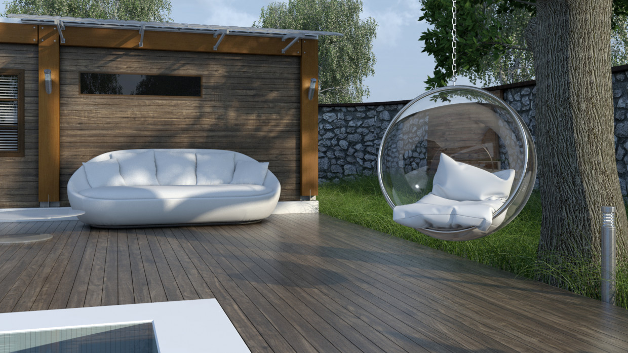 Ball in 3d max vray 3.0 image