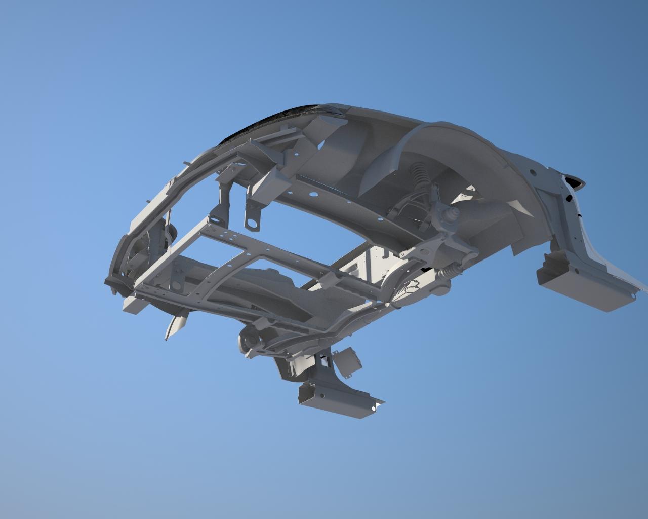 Honda Prelude Thurston in 3d max vray 3.0 image