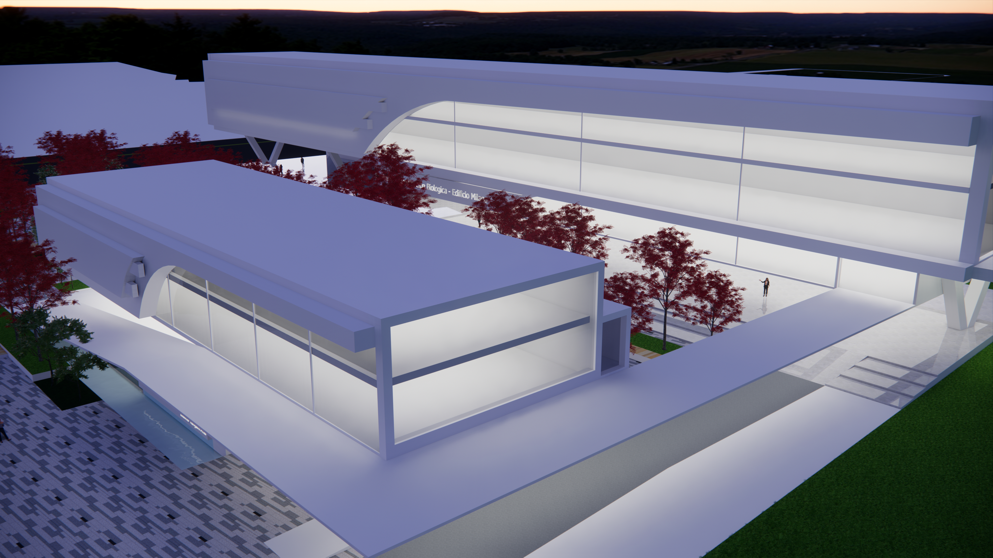 Exterior Volumetry in SketchUp Other image