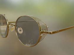 Glasses PT-01-Gold-Black