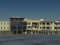 Hotel auf der Krim