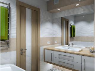 Interior design di un bagno a Chernihiv