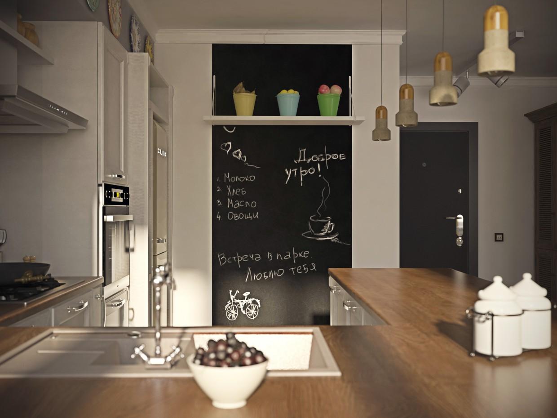 Квартира - студія ЖК Чайковський м.Мінськ в 3d max vray зображення