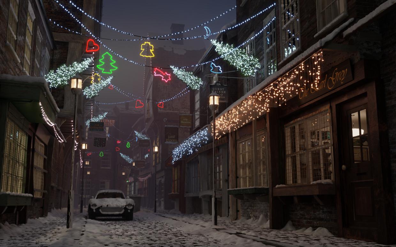 NEW YEARS IS SOON))))) in Blender cycles render image