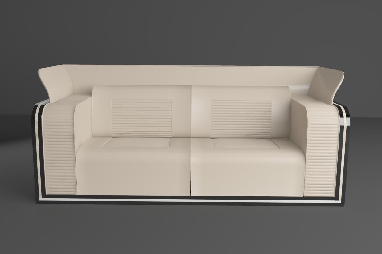 """Sofa """"ROYCE"""" in 3d max vray 4.0 image"""