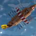 रोमन जहाज Cinema 4d maxwell render में प्रस्तुत छवि
