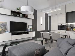 Apartamento de tres habitaciones S64