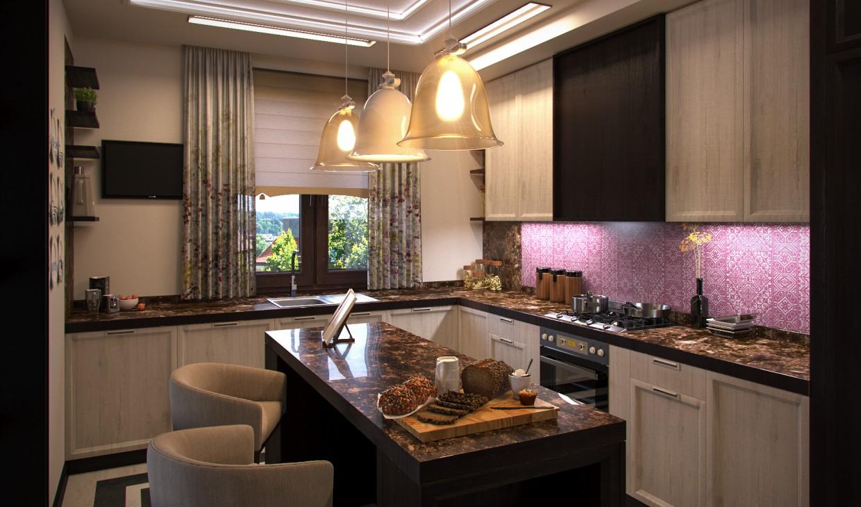 3d визуализация проекта Кухня Re-Make в 3d max, рендер corona render от Conceptvision