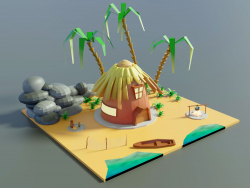 Rive de l'île