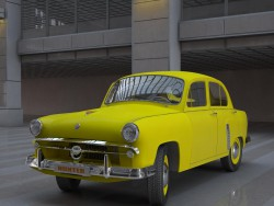 "Yellow ""Moskvich"""
