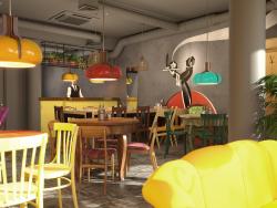 Visualizzazione di un ristorante a Tver