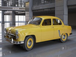 "Yellow ""Moskvich"" (1)"