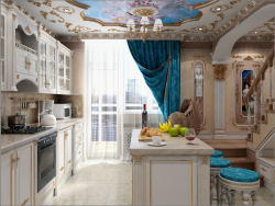 Kitchen interior design in Chernihiv