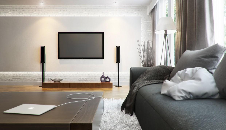 Living room в 3d max vray зображення