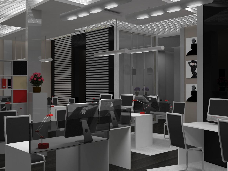 कार्यालय 3d max vray में प्रस्तुत छवि