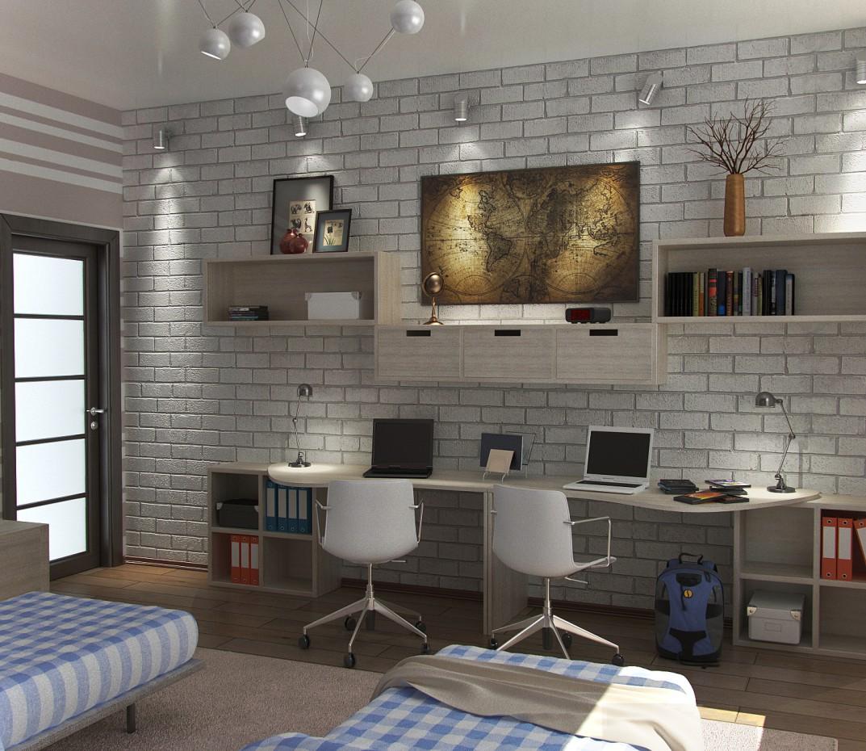 imagen de Habitación de niños en 3d max vray