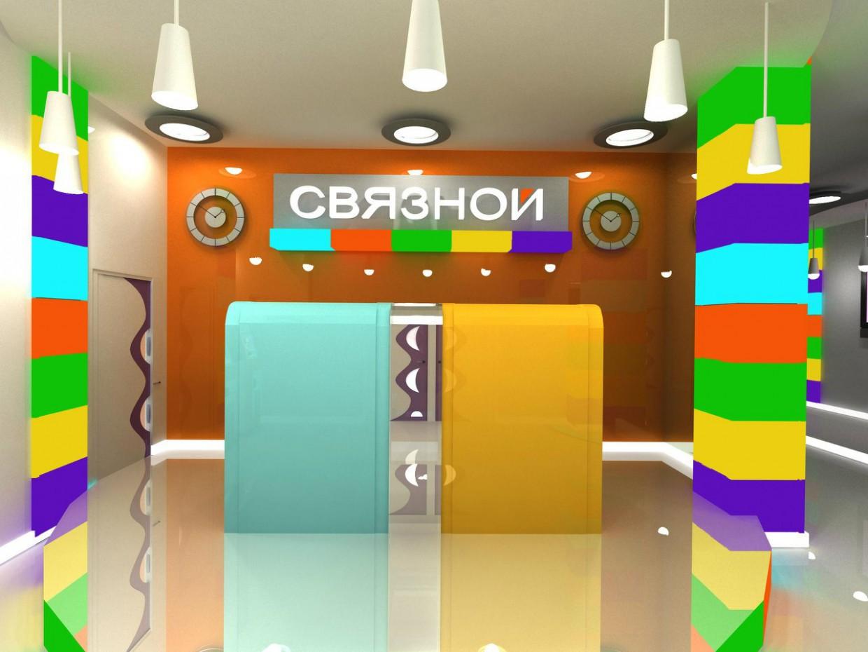 3d визуализация проекта Связной банк в 3d max, рендер vray от Asya_Love_you
