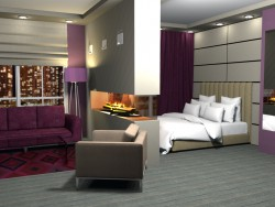 Dormitorio sala de estar