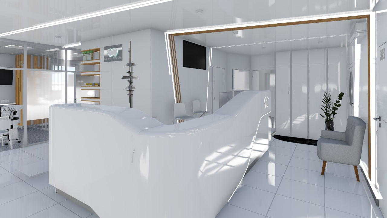 Dental clinic in 3d max Other image