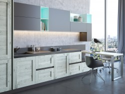 Kitchen Elnova | Gerbera black edition