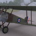 Sopwith F.1 Camel in Blender cycles render image