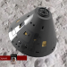 अपोलो 11 कैप्सूल नासा Cinema 4d maxwell render में प्रस्तुत छवि