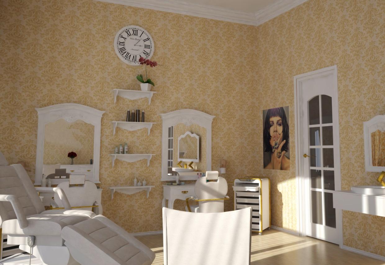imagen de Salón de belleza en el hotel. en 3d max vray