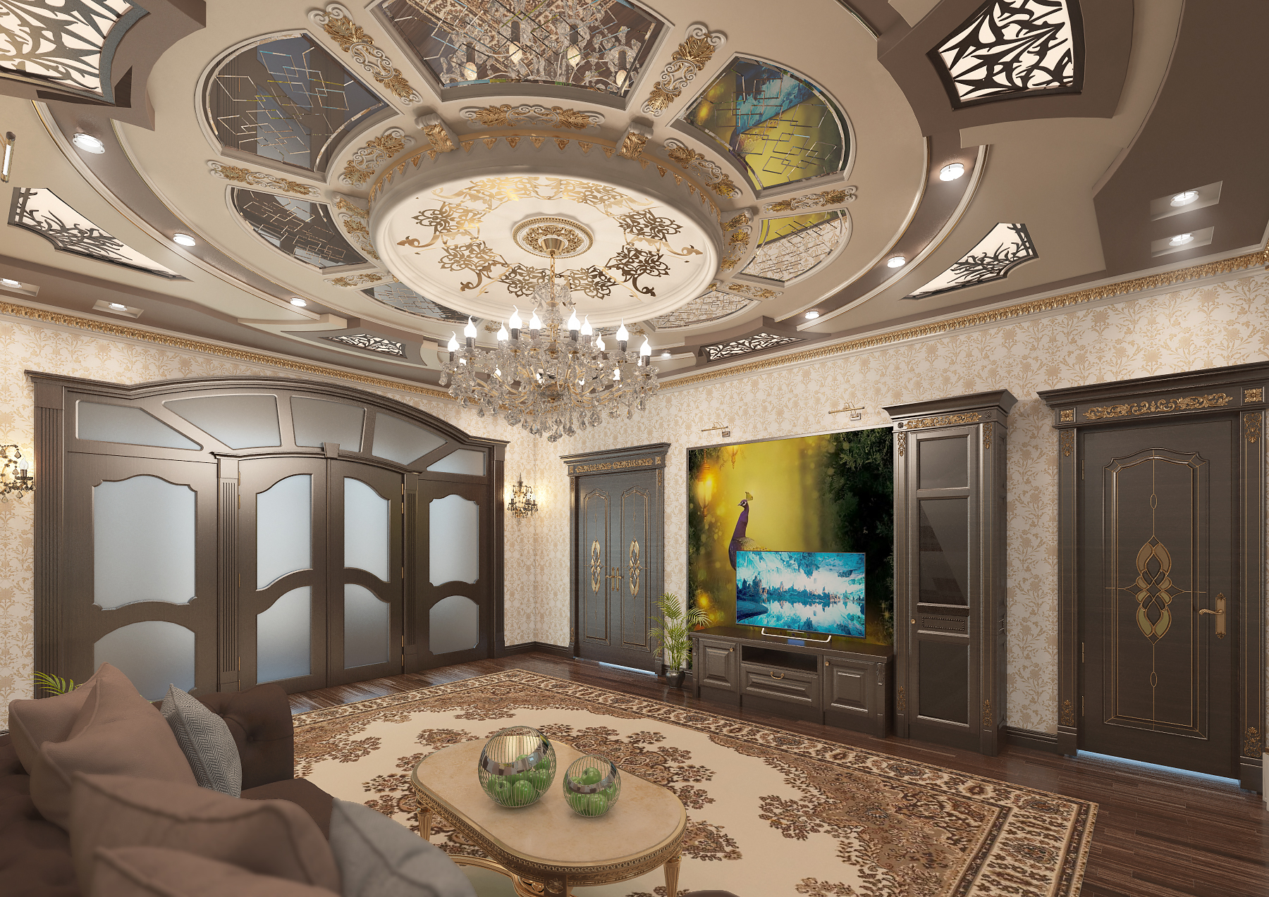 Lobby in 3d max vray 3.0 image
