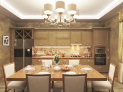 cocina (iluminación nocturna)