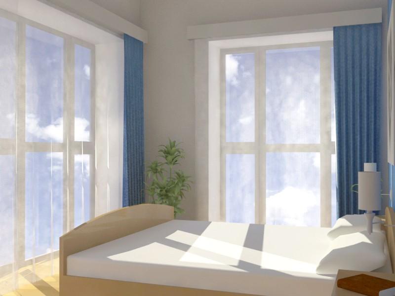 Спальна молодят в 3d max vray зображення