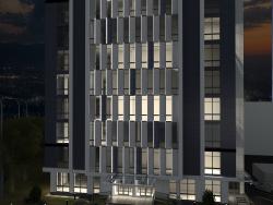 Bürogebäude mit 9 Stockwerken