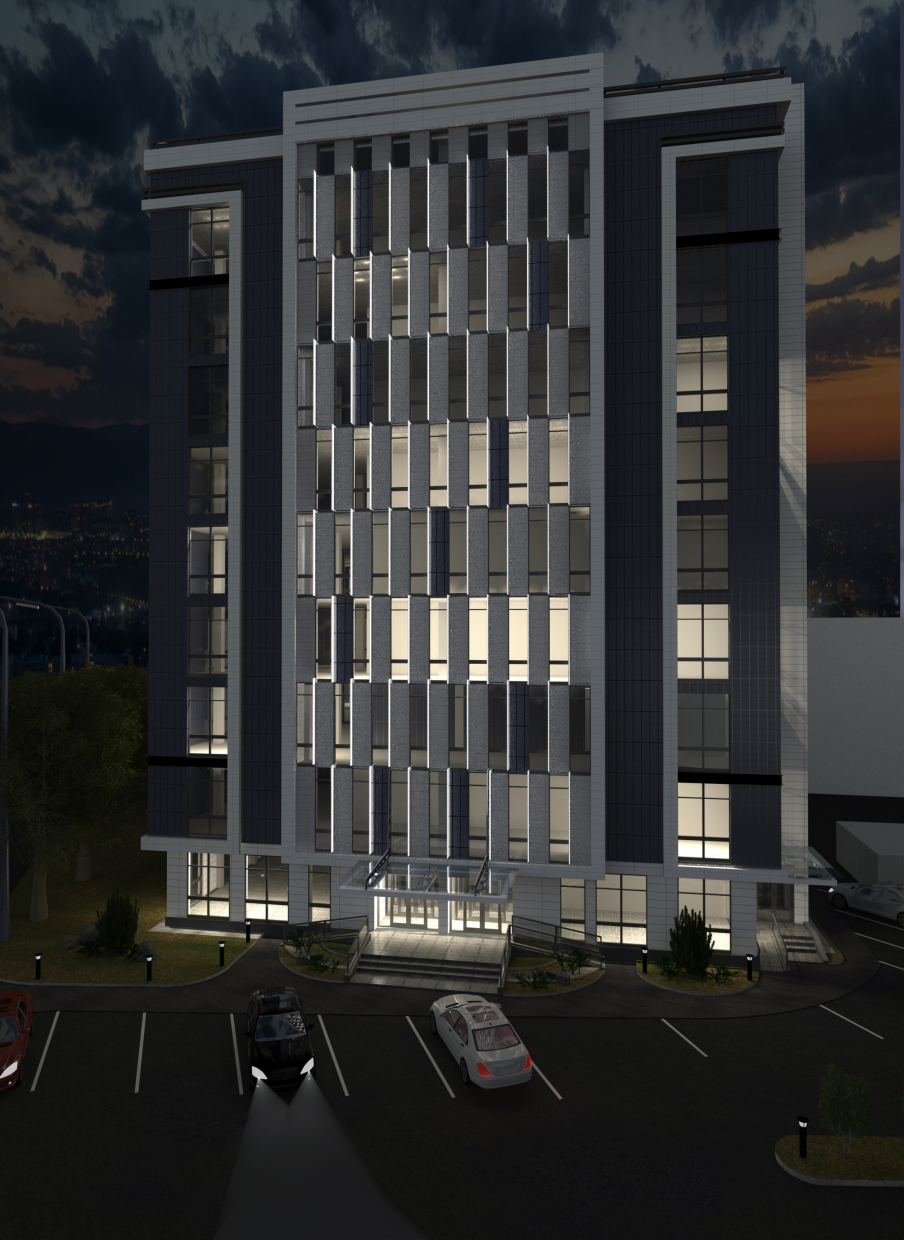 Office building 9 storey in ArchiCAD Other image