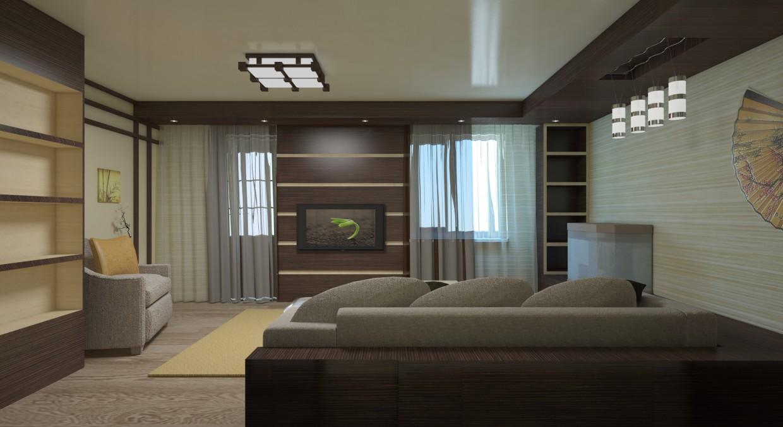 imagen de Sala 1 opción en 3d max vray