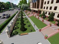 Presentación de video 3D del desarrollo del palacio de justicia. (Video adjunto)