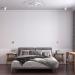 3d rendering of a bedroom.