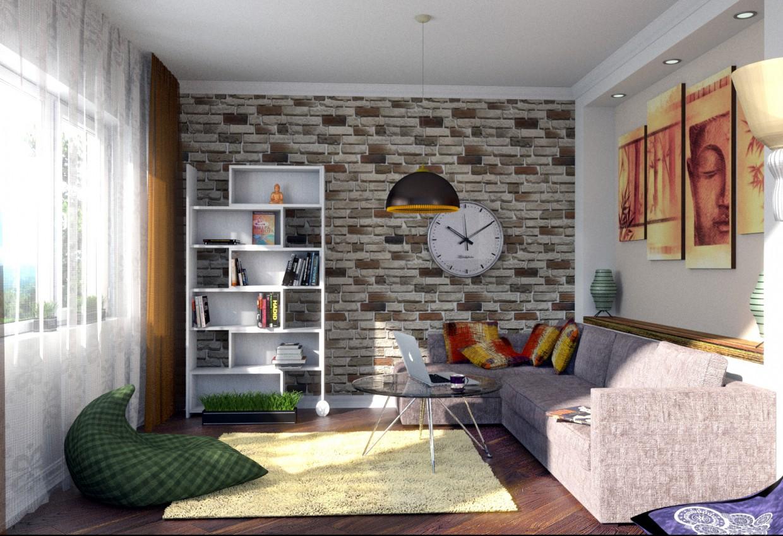 Room in Blender cycles render image