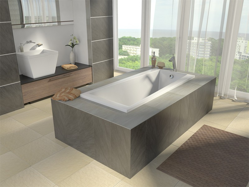 3d visualization of the project in the visualization of the interior of the bath Maya, render mental ray of wanderer_k