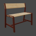 Bench in Blender cycles render image