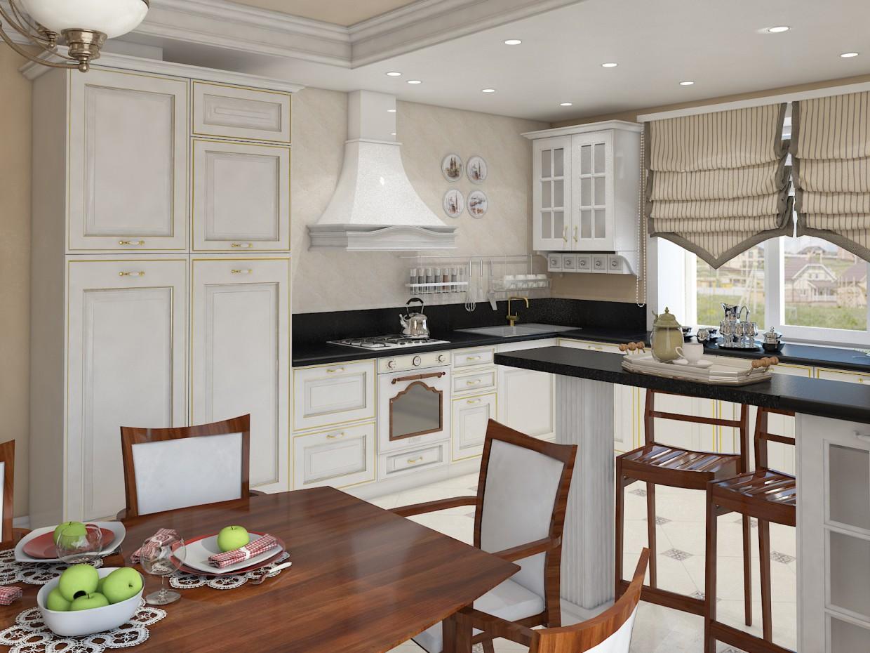 imagen de Visualización de cocina en 3d max vray