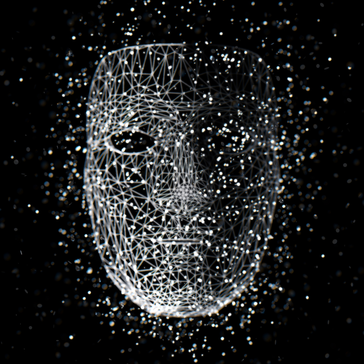 Atomic mask in Cinema 4d Other image