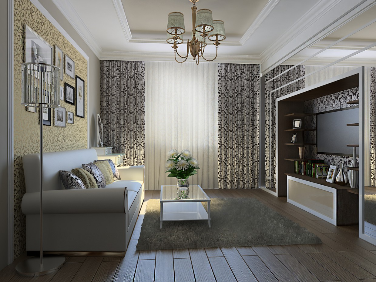 Room for Mom in 3d max vray image