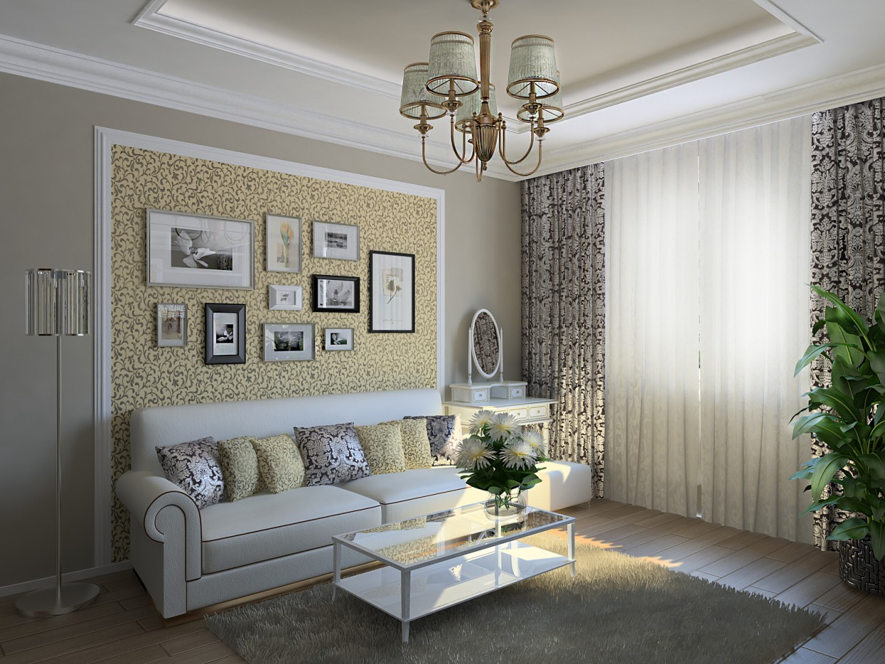 Room for Mom 2  in  3d max   vray  image