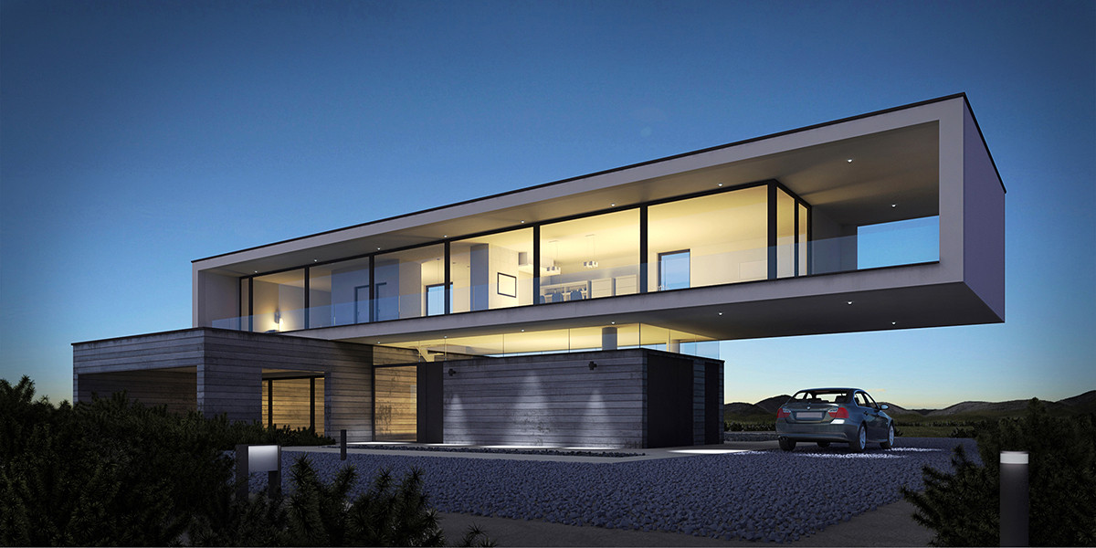 Dune house in 3d max vray 2.0 image